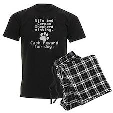 Wife And German Shepherd Missing Pajamas