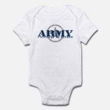 Army - I Support My Nephew Infant Bodysuit
