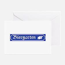Biergarten, Germany Greeting Cards (Pk of 10)