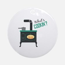 Whats Cookin Ornament (Round)