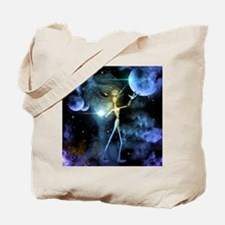 The alien in the universe Tote Bag