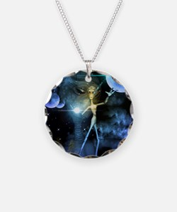 The alien in the universe Necklace