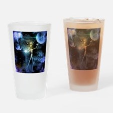 The alien in the universe Drinking Glass