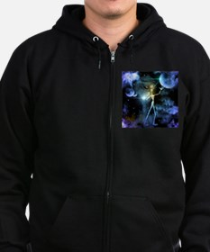 The alien in the universe Zip Hoodie