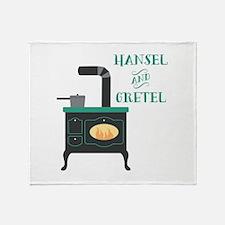 Hansel & Gretel Throw Blanket