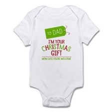 I'm Your Christmas Gift Infant Body Suit