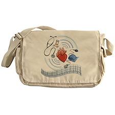 Heart Health Messenger Bag