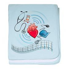 Heart Health baby blanket
