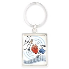 Heart Health Keychains