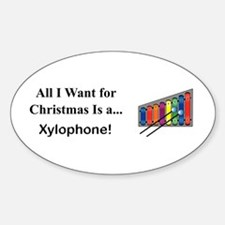 Christmas Xylophone Decal