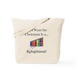 Christmas Xylophone Tote Bag