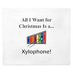 Christmas Xylophone King Duvet