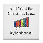 Christmas Xylophone Tile Coaster