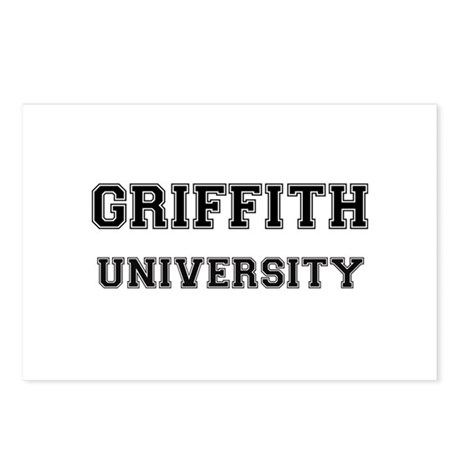GRIFFITH UNIVERSITY Postcards (Package of 8)