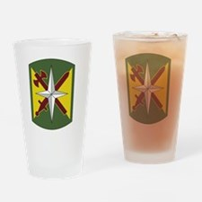 14th Military Police Brigade.png Drinking Glass
