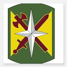"14th Military Police Bri Square Car Magnet 3"" x 3"""