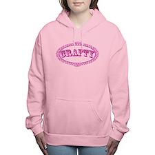 Crafty Girl Women's Hooded Sweatshirt
