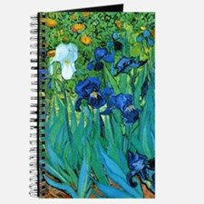Van Gogh Garden Irises Journal
