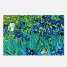 Van Gogh Garden Irises Postcards (Package of 8)