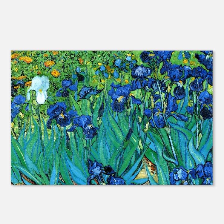 Van Gogh Garden Irises Postcards (Package of 8)