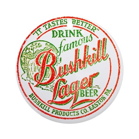 Bushkill Beer-1937 Ornament (Round)