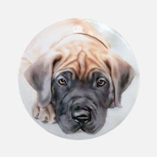 Ransom Fawn Puppy Ornament (Round)