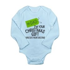 Unique Youre welcome Long Sleeve Infant Bodysuit