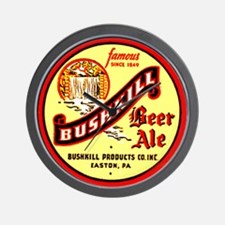 Bushkill Beer-1939 Wall Clock