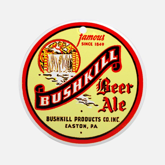 Bushkill Beer-1939 Ornament (Round)