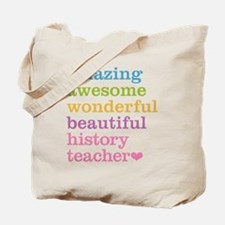 History Teacher Tote Bag