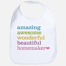 Awesome Homemaker Bib