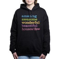 Awesome Housewife Women's Hooded Sweatshirt