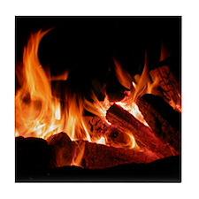 Campfire Tile Coaster