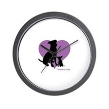 Unique Pit bull Wall Clock