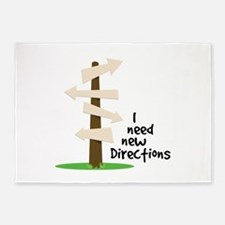 I Need Directions 5'x7'Area Rug