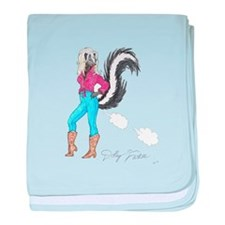 Cute Skunk baby blanket