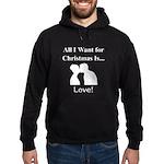 Christmas Love Hoodie (dark)