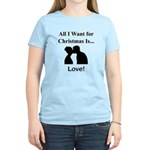 Christmas Love Women's Light T-Shirt