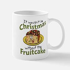 Funny Christmas Cartoon Fruitcake Mugs
