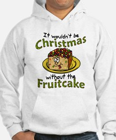 Funny Christmas Cartoon Fruitcake Hoodie