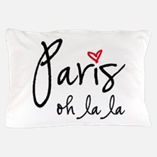 Paris oh la la Pillow Case
