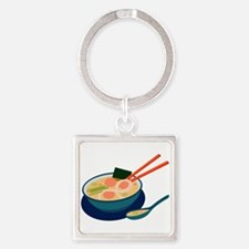 Asian Soup Keychains