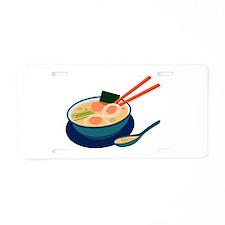 Asian Soup Aluminum License Plate