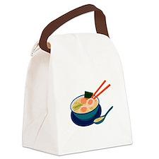 Asian Soup Canvas Lunch Bag
