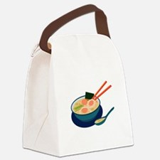 Asian Soup Canvas Lunch Bag