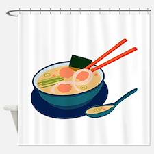 Asian Soup Shower Curtain