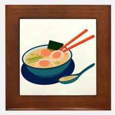 Asian Soup Framed Tile