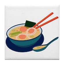 Asian Soup Tile Coaster