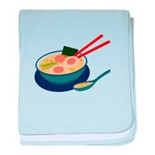 Asian Soup baby blanket