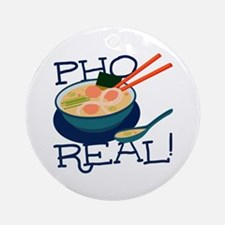 Pho Real Ornament (Round)